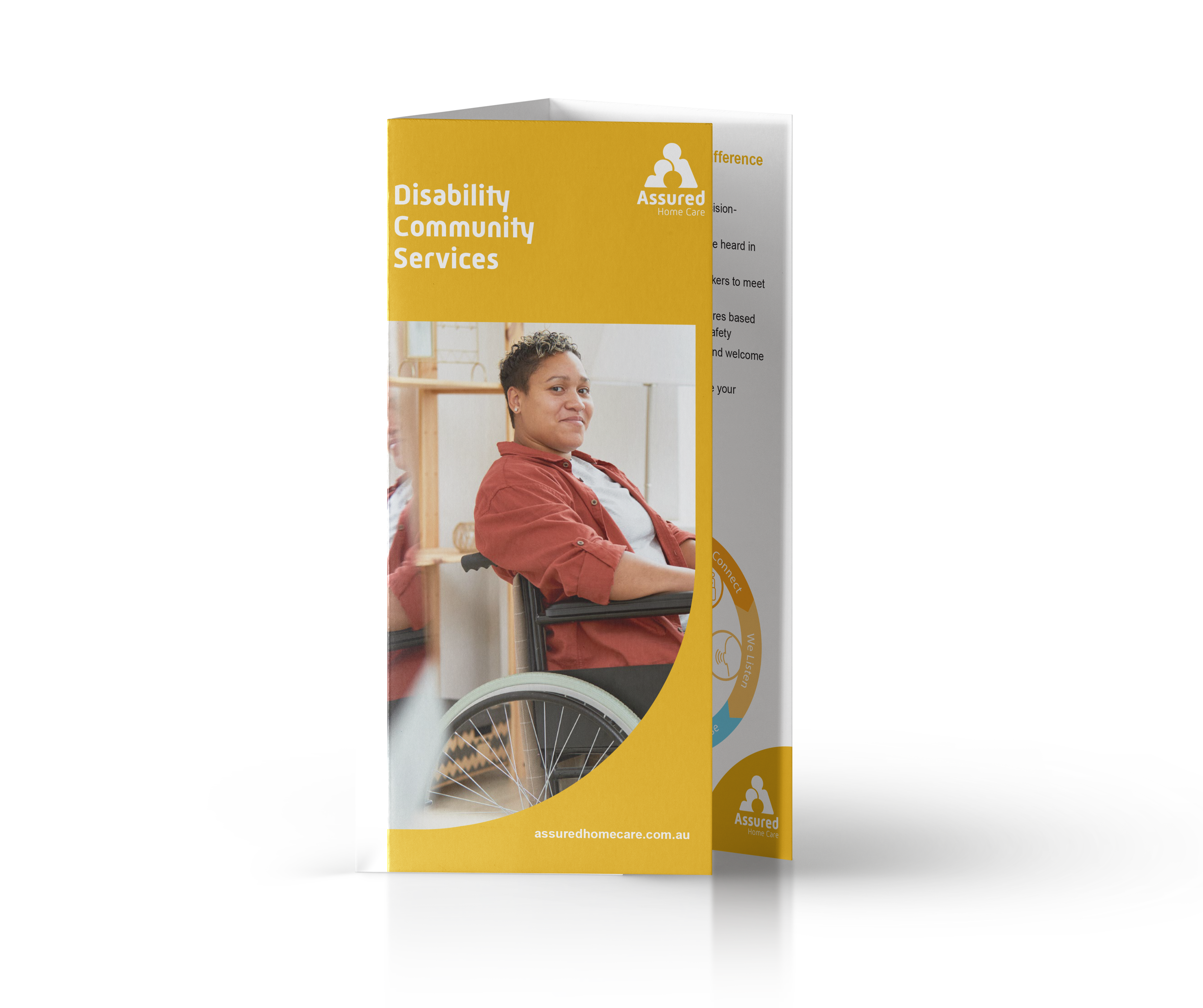 Disability Community Services Brochure