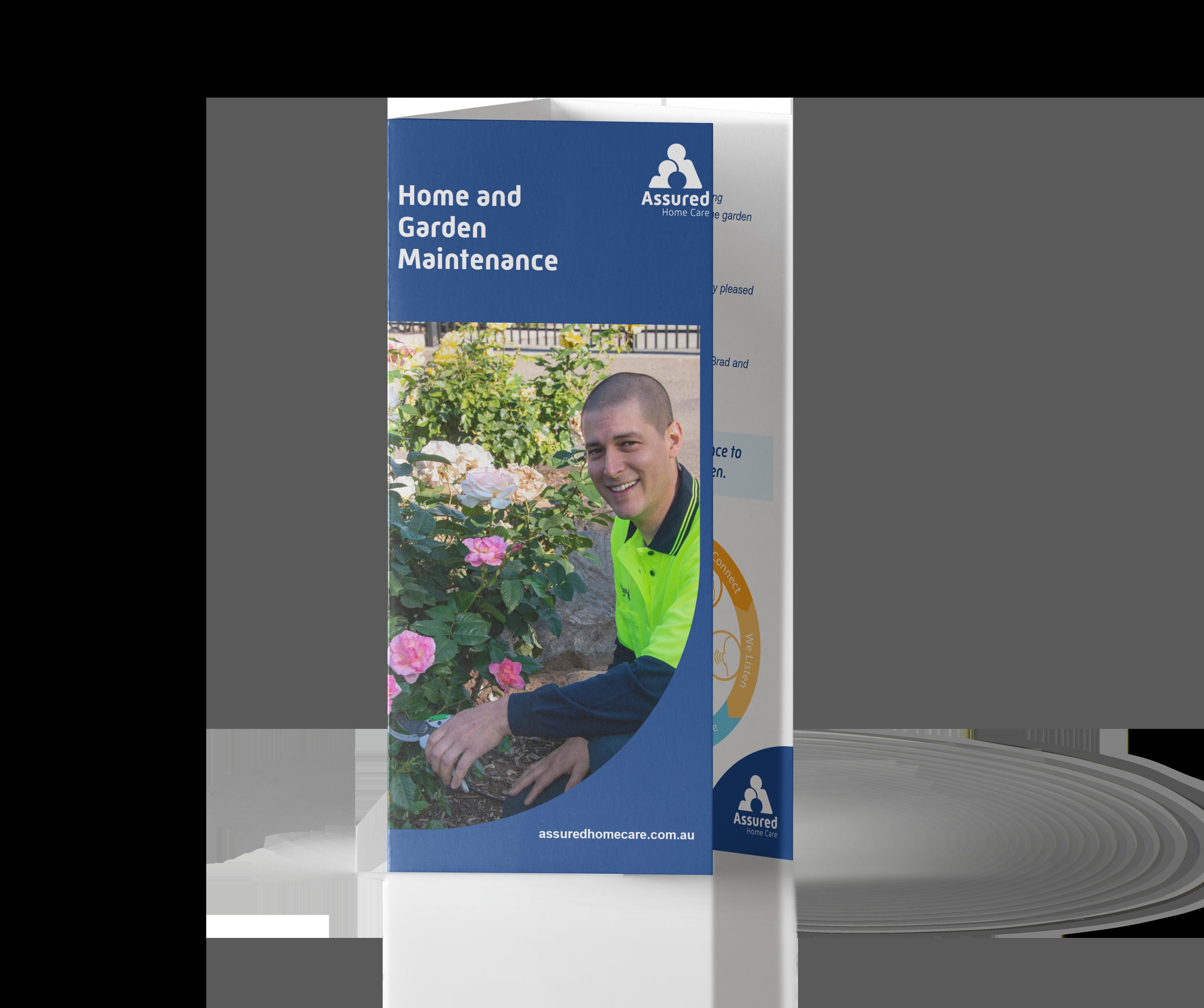 Home & Garden Maintenance Brochure